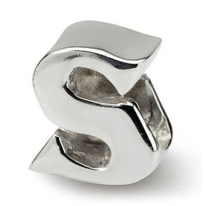 Reflections Sterling Silver Letter S Bead / Charm